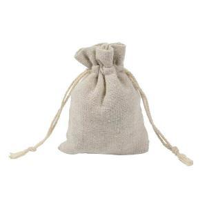 White Cotton Pouch Design Muslin Drawstring Bags