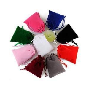 Drawstring Gift Pouches Velvet Candy Bags