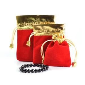 Small velvet jewelry gift pouch bags with drawstring bulk